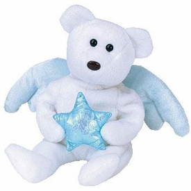 Ty Beanie Baby Star the Bear With Blue Star