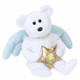 Ty Beanie Baby Star the Bear With Gold Star