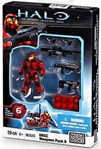Halo Wars Mega Bloks Exclusive Set #96920 UNSC Weapons Pack II