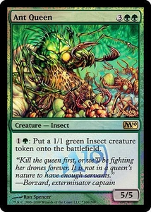 Magic the Gathering Prerelease & Release Promo Card Ant Queen [Magic 2010 Release]