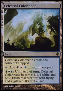 Magic the Gathering Prerelease & Release Promo Card Celestial Colonnade [Worldwake Box Promo]