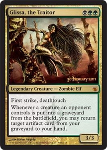 Magic the Gathering Prerelease & Release Promo Card Glissa, the Traitor [PreRelease Promo]