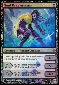 Magic the Gathering Prerelease & Release Promo Card Guul Draz Assassin [Rise of the Eldrazi Box Promo]
