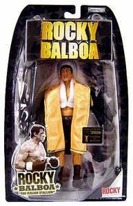 Jakks Pacific Rocky II Action Figure Rocky Balboa with Black Robe & Black Gloves [Early Release]