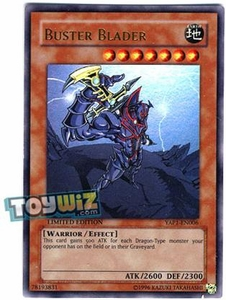YuGiOh 10th Anniversary Pack Single Card Ultra Rare YAP1-EN006 Buster Blader