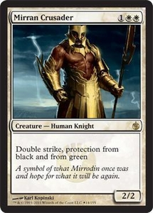 Magic the Gathering Prerelease & Release Promo Card Mirran Crusader [Box Promo]