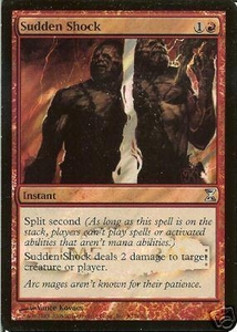 Magic the Gathering Prerelease & Release Promo Card Sudden Shock [Time Spiral Release]