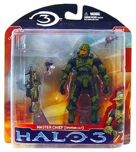 Halo 3 McFarlane Toys Series 2 Action Figure Master Chief 2