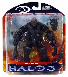Halo 3 McFarlane Toys Series 2 Action Figure Brute Stalker COLLECTOR'S CHOICE!