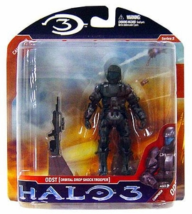 Halo 3 McFarlane Toys Series 2 Action Figure ODST Orbital Drop Shock Trooper