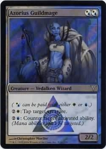Magic the Gathering Prerelease & Release Promo Card Azorius Guildmage [Dissension Release]