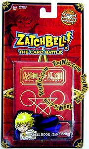 Zatch Bell Card Battle Zatch's Red Spell Book with Crimson Inlay  Sealed with Promo Card! [Red Card]