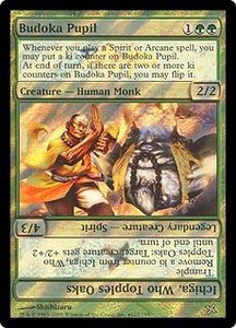 Magic the Gathering Prerelease & Release Promo Card Budoka Pupil [Betrayers Release]