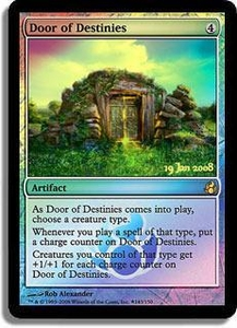 Magic the Gathering Prerelease & Release Promo Card Door of Destinies [Morningtide Prerelease]
