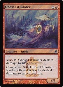 Magic the Gathering Prerelease & Release Promo Card Ghost-lit Raider [Saviors Release]