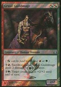 Magic the Gathering Prerelease & Release Promo Card Gruul Guildmage [Guildpact Release]