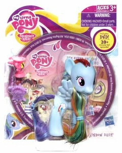 My Little Pony Friendship is Magic Figure with DVD Rainbow Dash