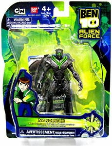 Ben 10 Alien Force 4 Inch Action Figure Nanomech [Version 1]
