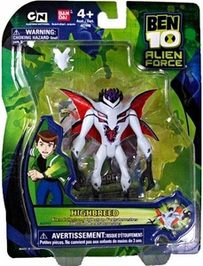 Ben 10 Alien Force 4 Inch Action Figure Highbreed Very Hard to Find!