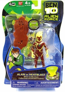 Ben 10 Alien Force 4 Inch Action Figure Alan [as Heatblast]