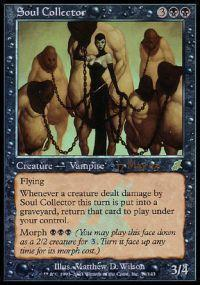 Magic the Gathering Prerelease & Release Promo Card Soul Collector [Scourge Prerelease]