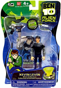 Ben 10 Alien Force 4 Inch Action Figure Kevin Levin