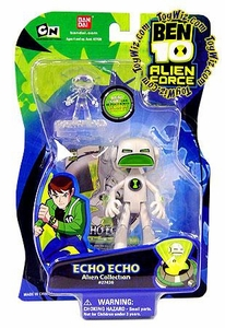 Ben 10 Alien Force 4 Inch Action Figure Echo Echo