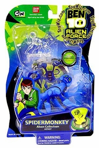 Ben 10 Alien Force 4 Inch Action Figure Spidermonkey