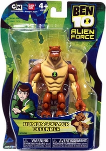 Ben 10 Alien Force 4 Inch Action Figure Humungousaur DEFENDER [NO TRANSLUCENT MINI ALIEN]