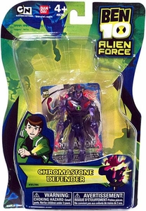 Ben 10 Alien Force 4 Inch Action Figure Chromastone DEFENDER [NO TRANSLUCENT MINI ALIEN]