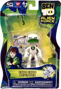 Ben 10 Alien Force 4 Inch Action Figure Echo Echo DEFENDER [NO TRANSLUCENT MINI ALIEN]