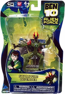 Ben 10 Alien Force 4 Inch Action Figure Swampfire DEFENDER [NO TRANSLUCENT MINI ALIEN]