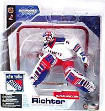 McFarlane Toys NHL Sports Picks Series 4 Action Figure Mike Richter (New York Rangers) White Jersey