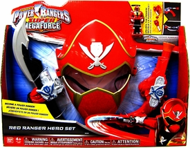 Power Rangers Super Megaforce Hero Set Red Ranger