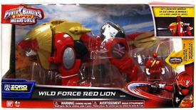 Power Rangers Super Megaforce Megazord Wild Force Red Lion New!