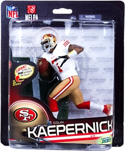 McFarlane Toys NFL Sports Picks Series 33 Action Figure Colin Kaepernick (San Francisco 49ers) White Jersey