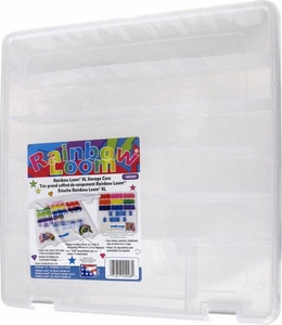 Rainbow Loom Official Large Deluxe Storage Case with Stickers New!