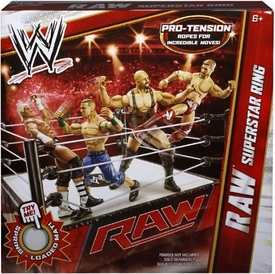 Mattel WWE Wrestling Superstar Ring RAW
