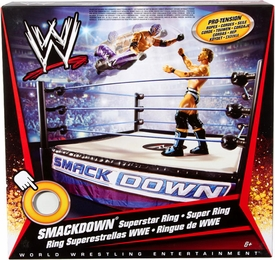 Mattel WWE Wrestling Smackdown Superstar Ring