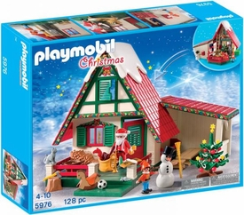 Playmobil Christmas Set #5976 Santa's Home