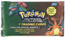 Topps Pokemon Advanced Challenge Trading Card Pack