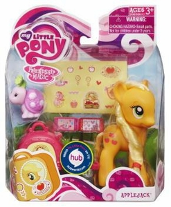 My Little Pony Figure Applejack with Suitcase