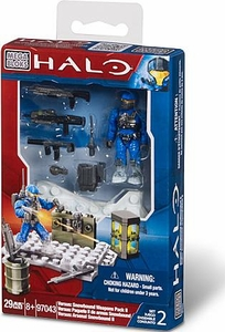Halo Mega Bloks Exclusive Set #97043 Versus: Snowbound Weapons Pack 2