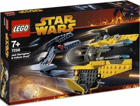 LEGO Star Wars Set #7256 Jedi Starfighter & Vulture Droid