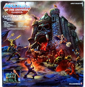 He-Man Masters of the Universe Classics Exclusive Playset Castle Grayskull