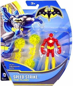 Batman 4 Inch Action Figure Speed Strike Flash