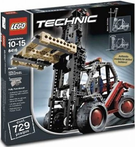 LEGO Technic Set #8416 Forklift