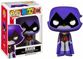 Funko Pop! Teen Titans Go Vinyl Figure Raven New!