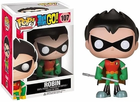 Funko Pop! Teen Titans Go Vinyl Figure Robin New!