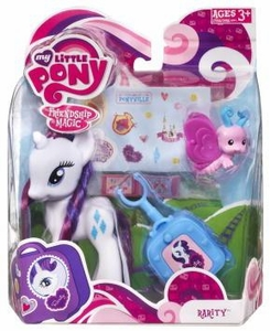 My Little Pony Figure Rarity with Suitcase
